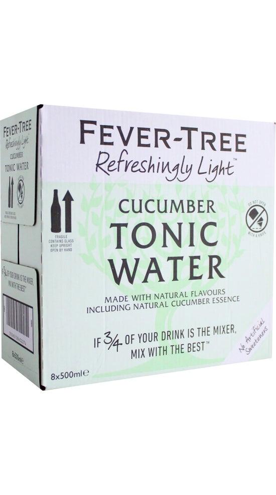 Fever-Tree Refreshingly Light Cucumber Tonic 8 x 500ml