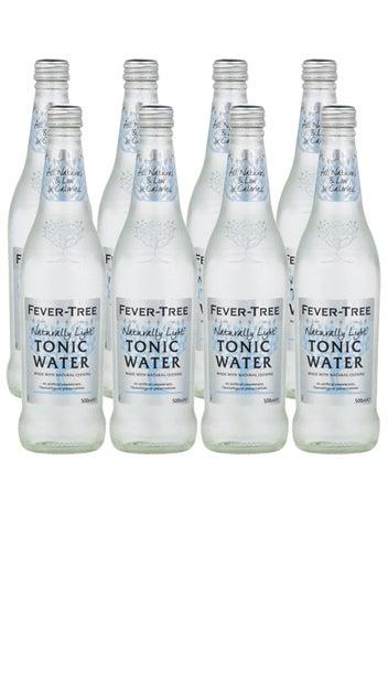 Fever-Tree Naturally Light Tonic Water 8x500ml