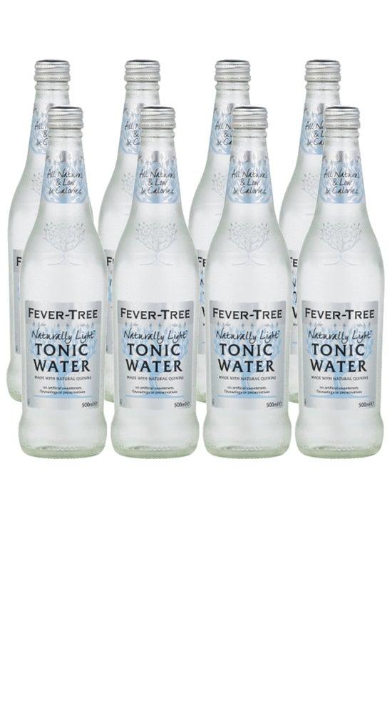 Fever-Tree Refreshingly Light Tonic Water 8x500ml