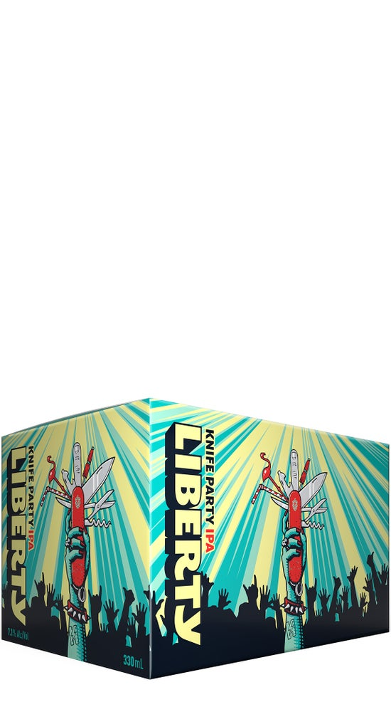 Liberty Knife Party IPA 6pk cans