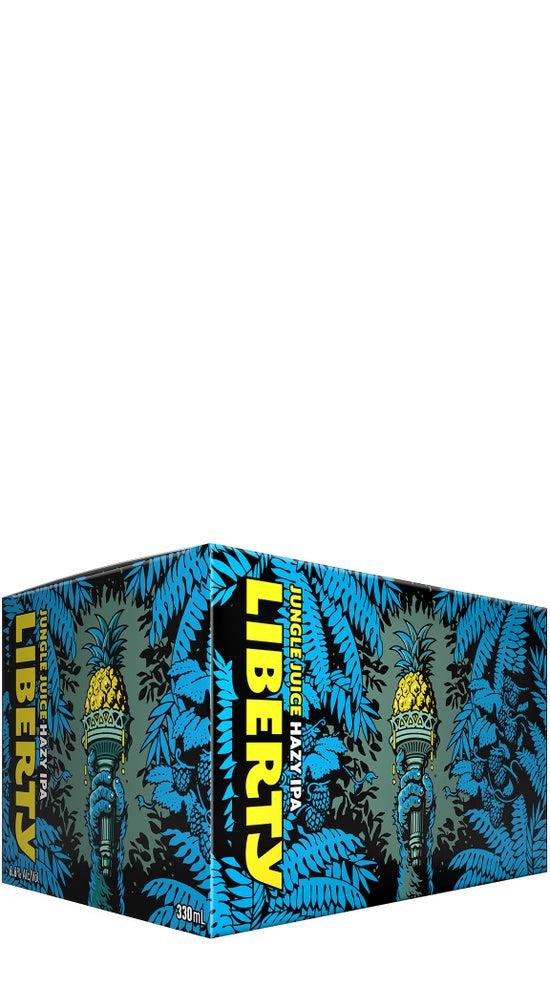 Liberty Jungle Juice Unfiltered West Coast IPA 6pk