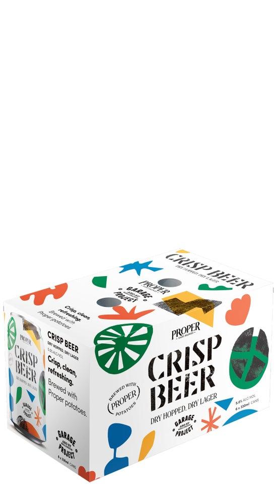 Garage Project Crisp Beer 330ml 6 pack