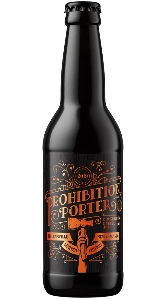 Liberty Prohibition Porter 2019 330ml bottle