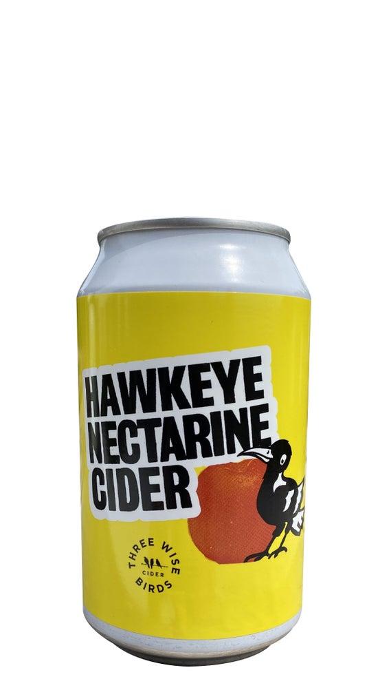 Three Wise Birds Hawkeye Nectarine Cider