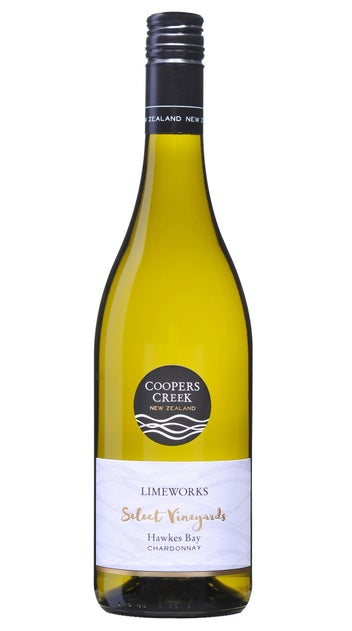 2018 Coopers Creek Select Vineyard Limeworks Chardonnay