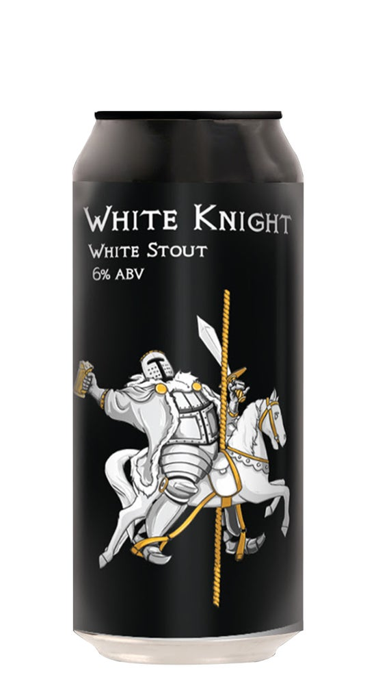 Double Vision White Knight 440ml can