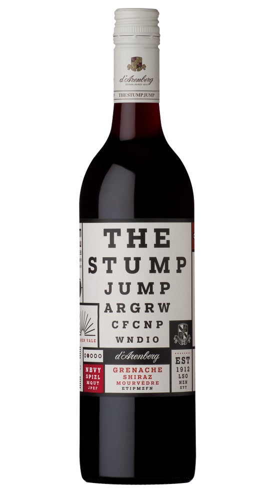d'Arenberg The Stump Jump Grenache Shiraz Mourvedre