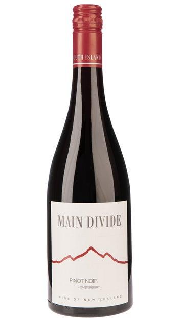 2018 Main Divide Pinot Noir