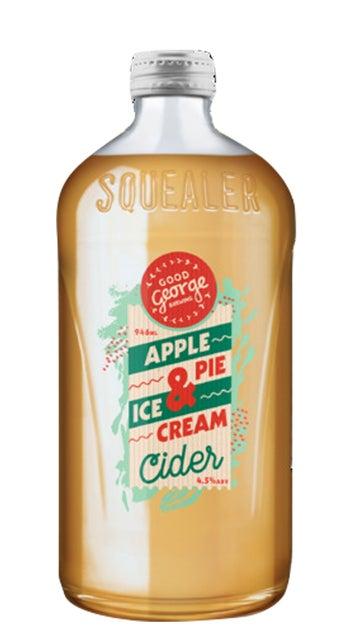 Good George Apple Pie & Ice Cream Cider 946ml bottle