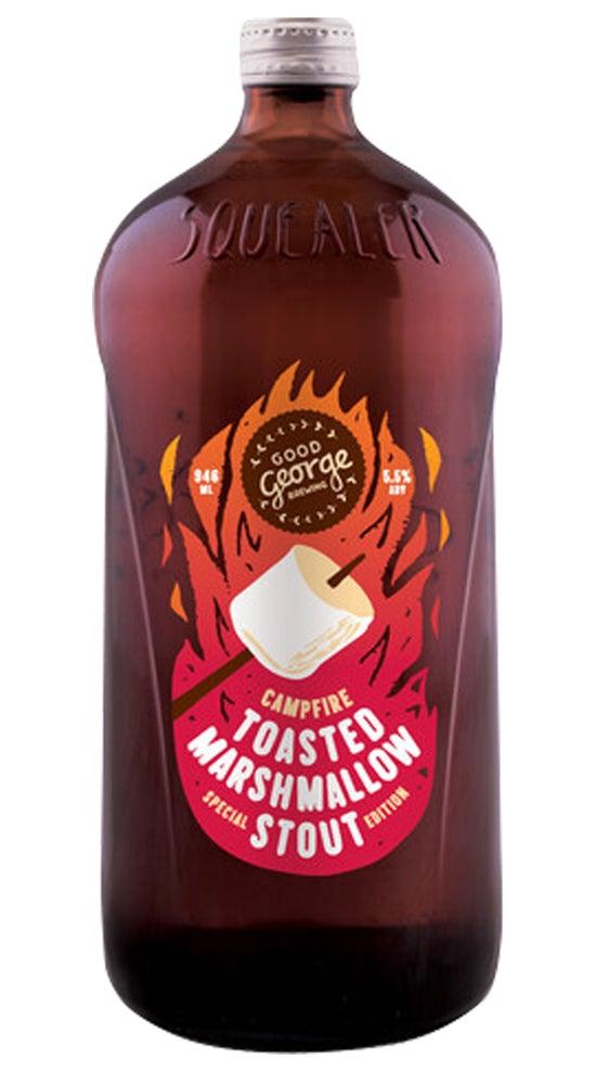 Good George Toasted Marshmallow Stout 946ml bottle