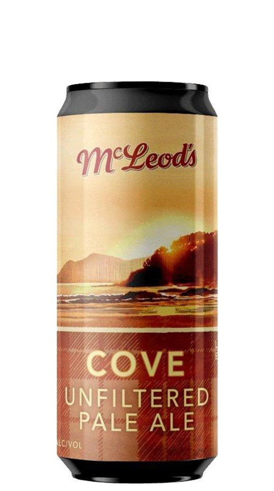 Mcleod's Cove Unfiltered Session Pale Ale 440ml can