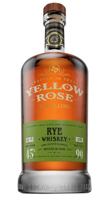 Yellow Rose Rye Whiskey 45% 700ml