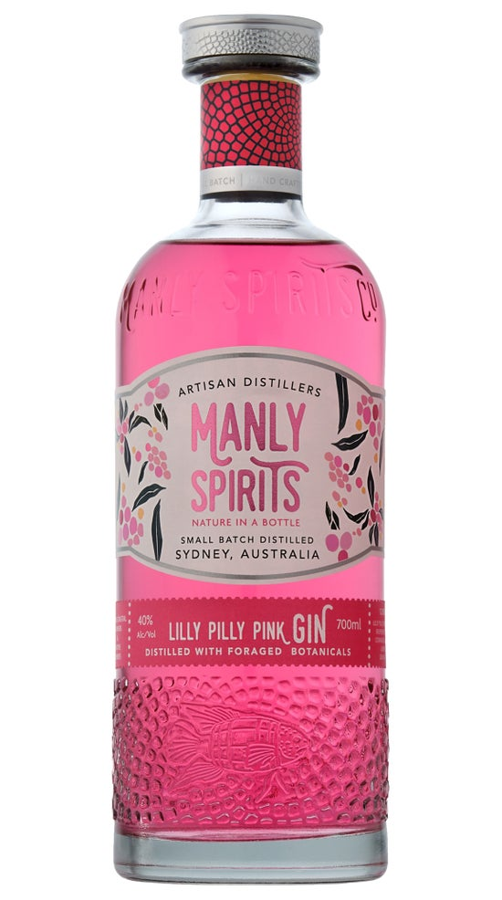 Manly Spirits Lilly Pilly Pink Gin 700ml