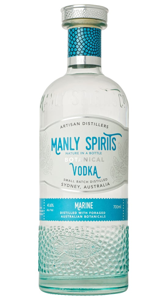 Manly Spirits Botanical Marine Vodka