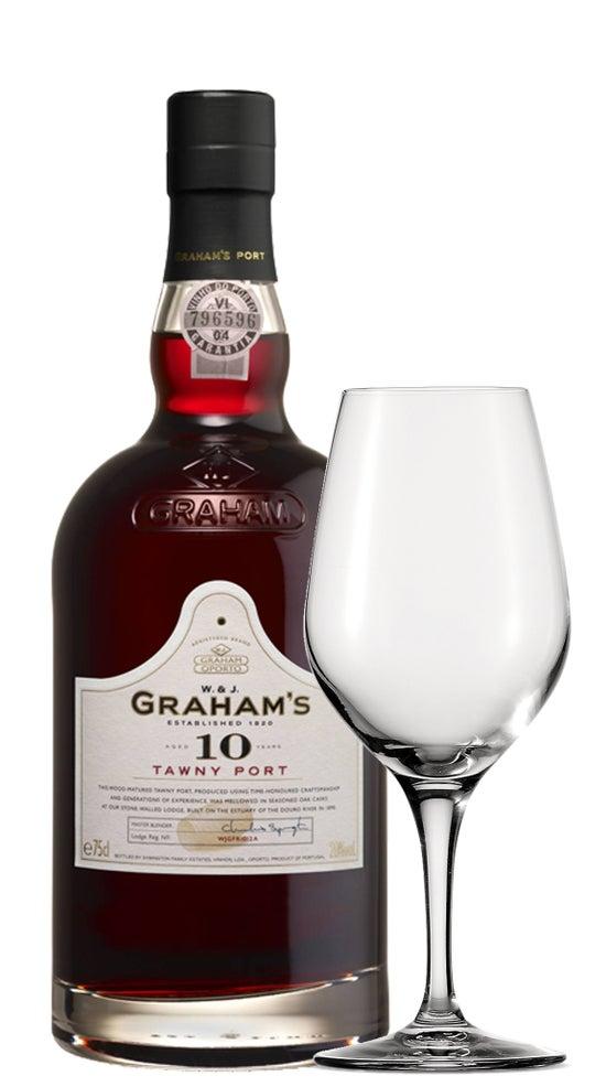 Graham's 10yr Old Tawny Port + Spiegelau Glass