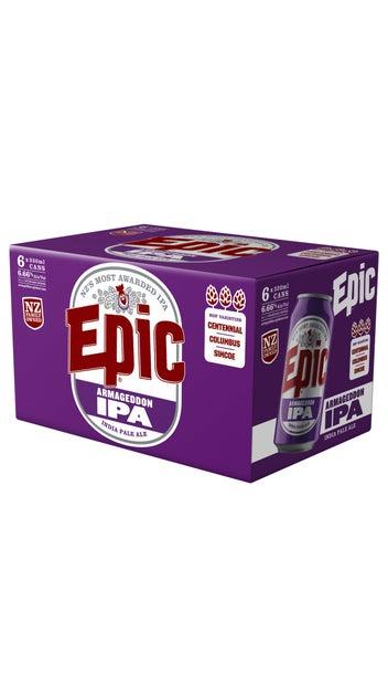 Epic Armageddon 6packs 330ml cans