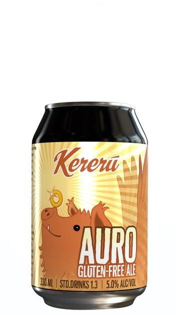 Kereru Gluten-Free Auro 330ml Cans