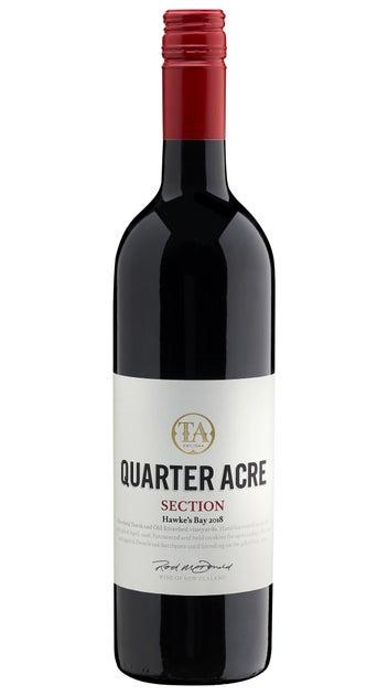 2018 Quarter Acre Section