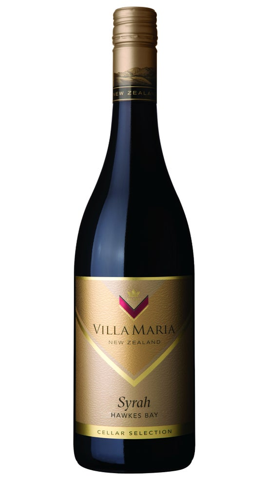 Villa Maria Cellar Selection Hawkes Bay Syrah