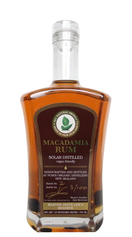 Puhoi Organic Distillery Macadamia Rum 750ml