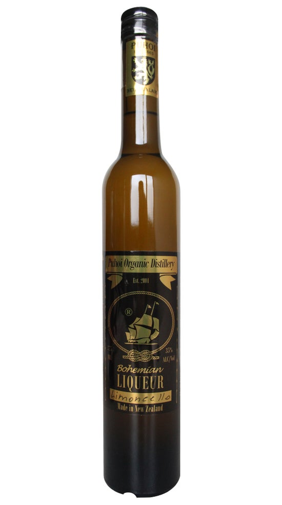 Puhoi Organic Distillery Limoncello 375ml