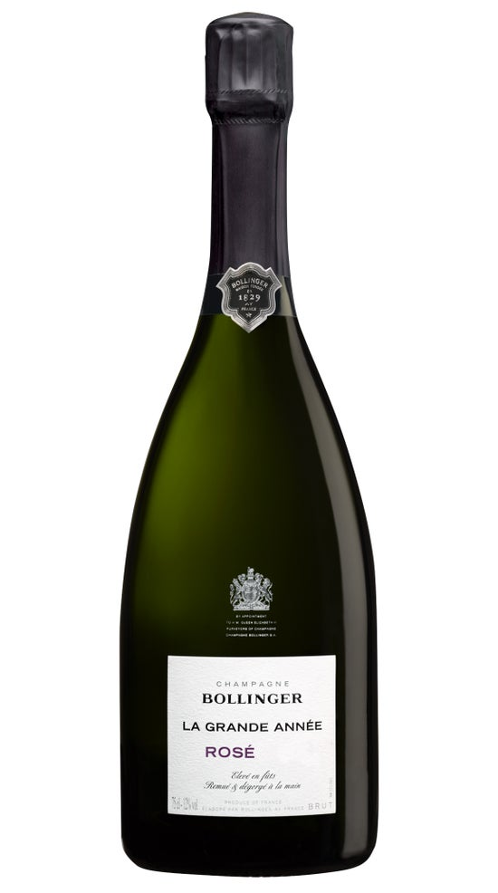 Champagne Bollinger La Grande Annee Rose