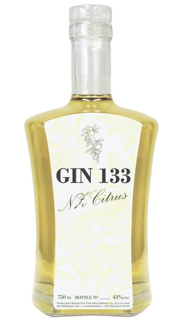 Gin 133 NZ Citrus 750ml bottle