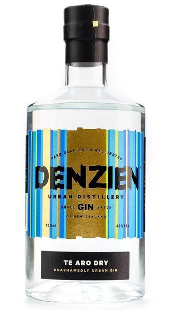 Denzien Te Aro Dry Gin 700ml bottle