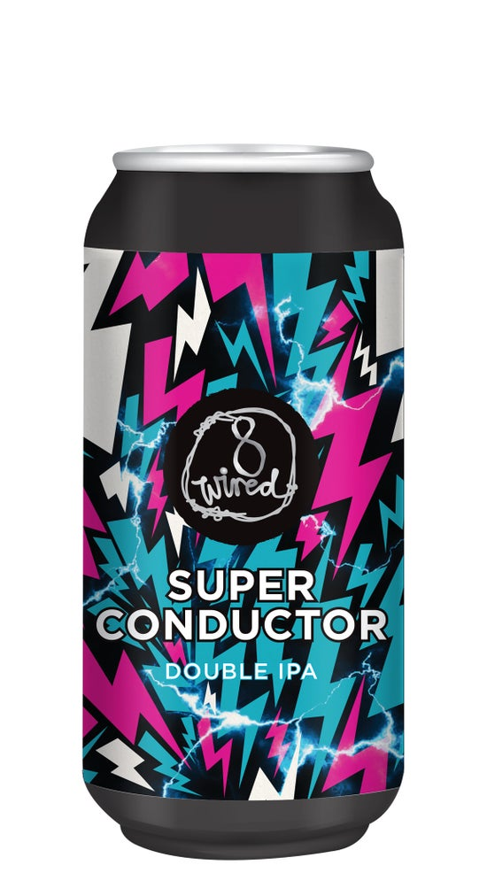 8 Wired Superconductor Double IPA 440ml can
