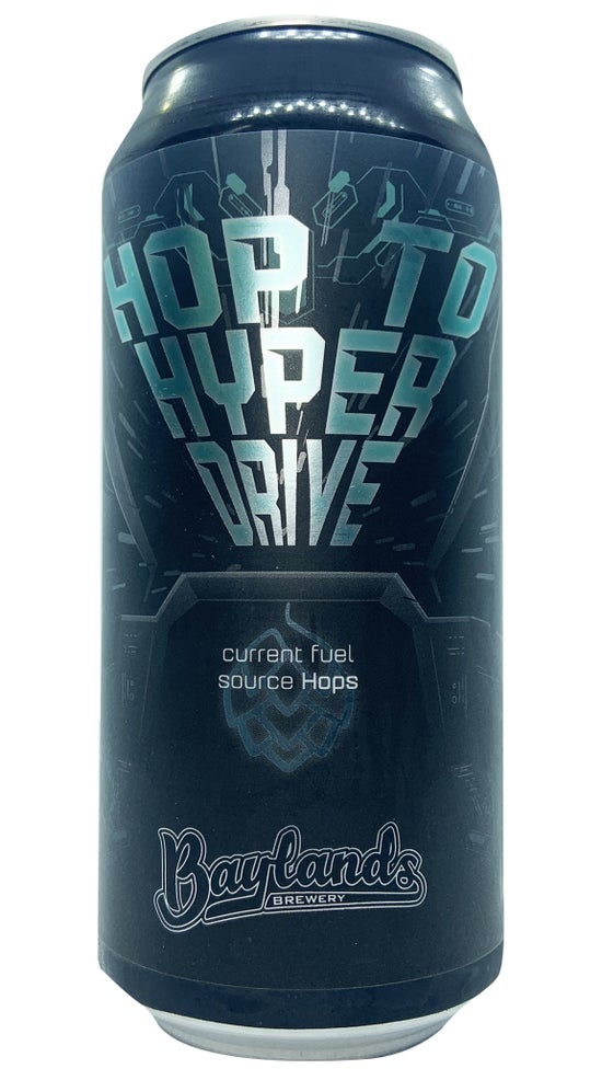 Baylands Hop To Hyperdrive Hazy Pale Ale 440ml can