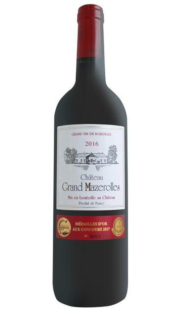 2016 Chateau Grand Mazerolles Blaye Côtes de Bordeaux