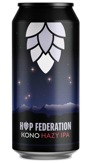 Hop Federation Kono Hazy IPA 440ml can