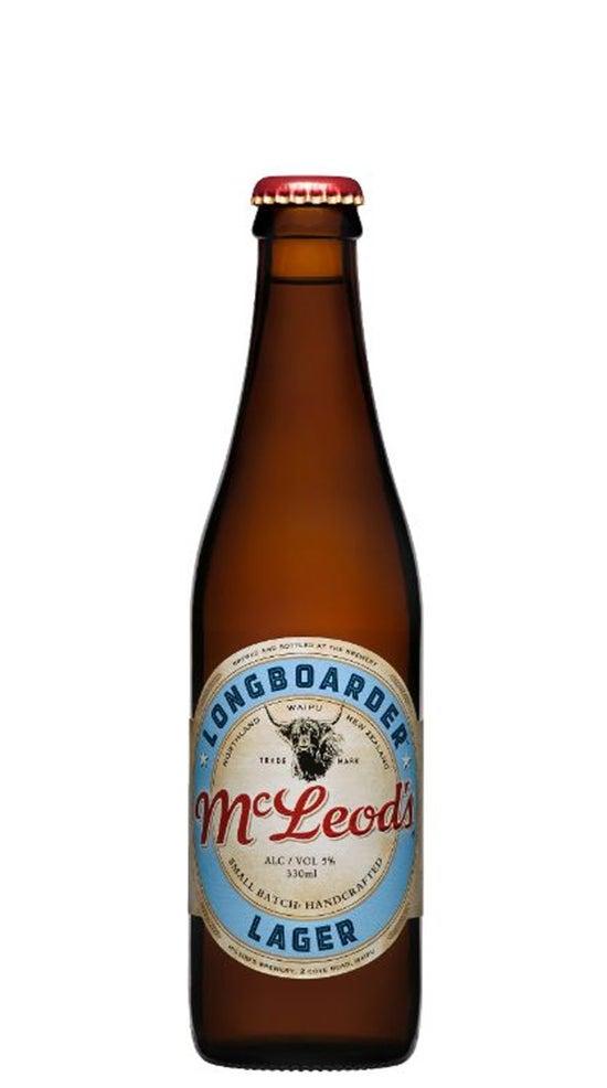 McLeod's Longboarder Lager 330ml