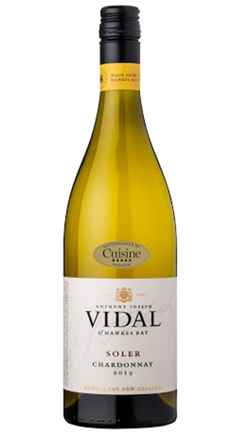 2019 Vidal 'Soler' Hawkes Bay Chardonnay