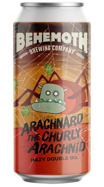 Behemoth Arachnard The Churly Arachnid Double Hazy IPA 440ml can
