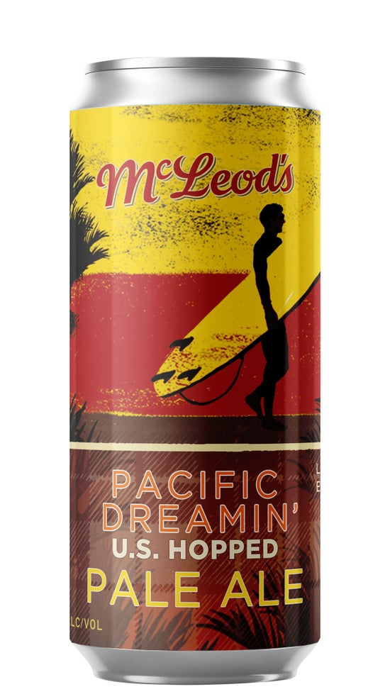 McLeod's Pacific Dreamin' Pale Ale 440ml can