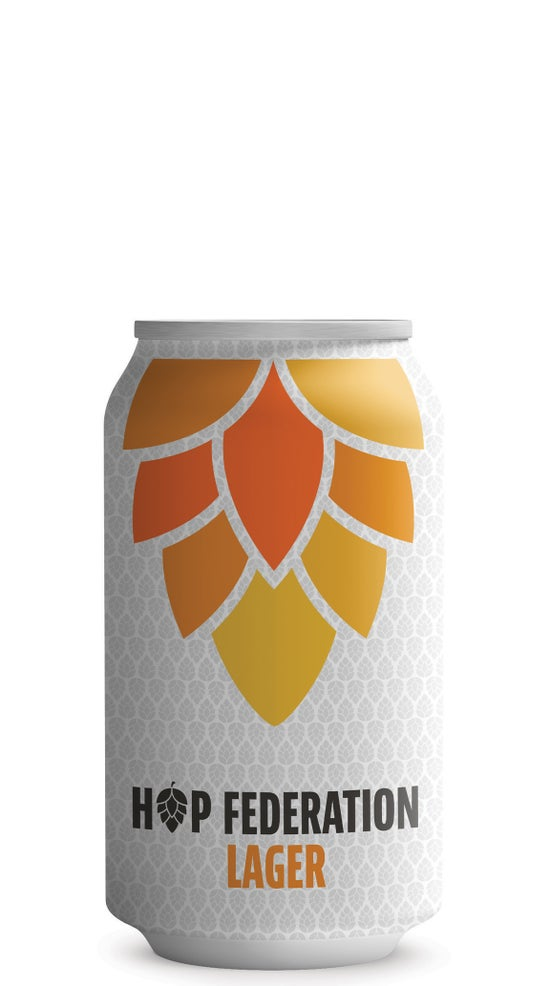 Hop Federation Lager 330ml can