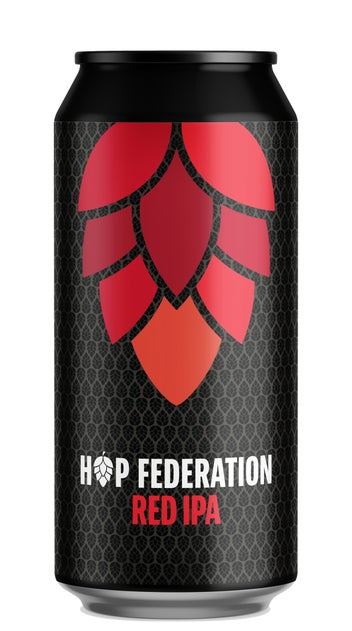 Hop Federation Red IPA 440ml can