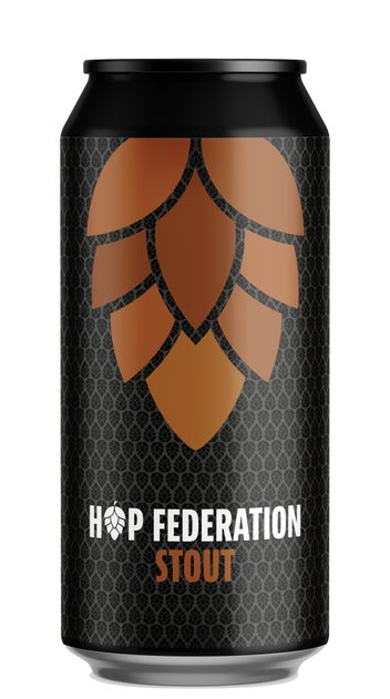 Hop Federation Stout 440ml can