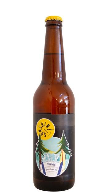 Sunshine Pines West Coast IPA 500ml bottle
