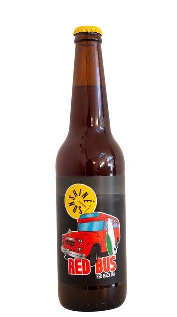 Sunshine Brewing Red Bus Hazy Red IPA 500ml bottle