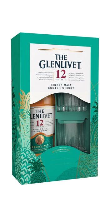 The Glenlivet 12YO 700ml & 2 Glasses Giftpack