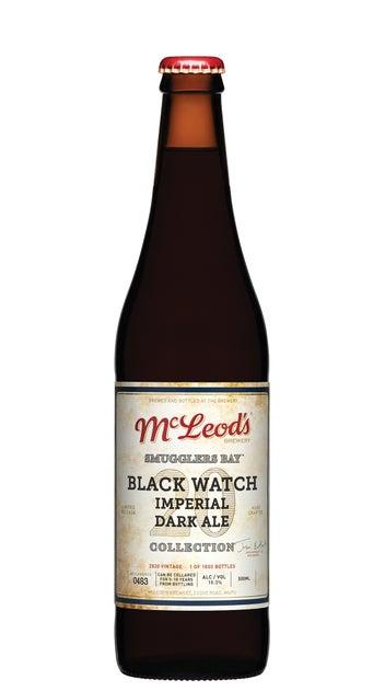 McLeod's BlackWatch Imperial Dark Ale 2020 Vintage 500ml