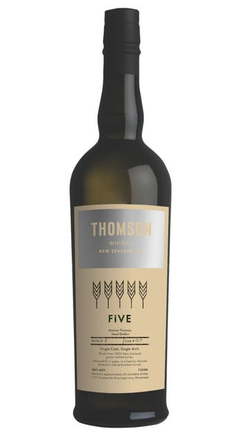 2020 Thomson Five Yr Old Whisky 700ml