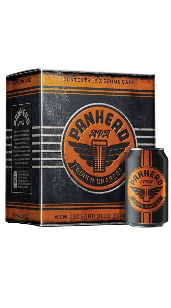 Panhead Super Charger APA 12 Pack Cans