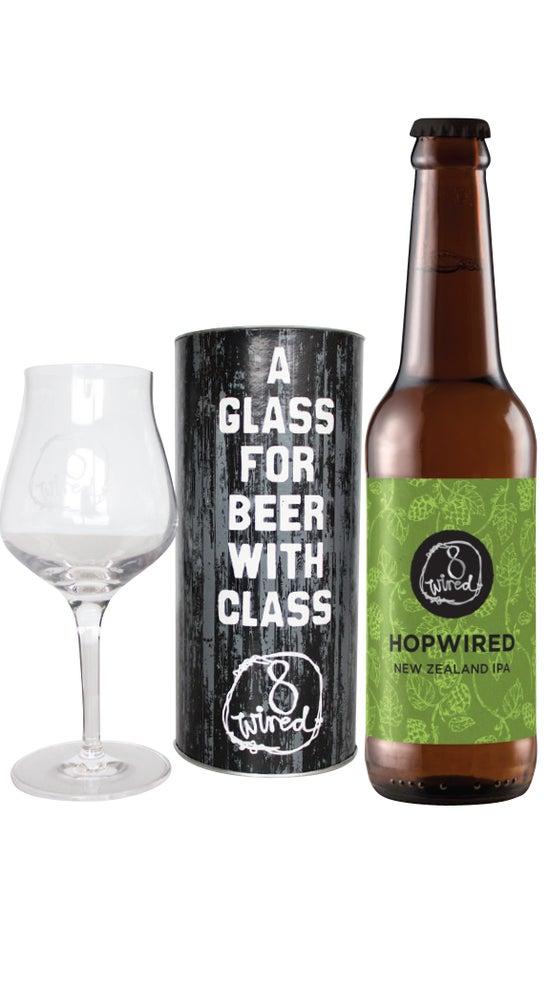 8 Wired Hopwired IPA & Glass Tube Pack