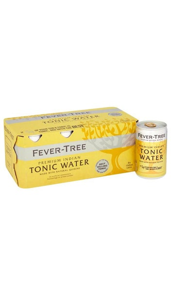Fever-Tree Premium Indian Tonic Water Cans 8x 150ml pk