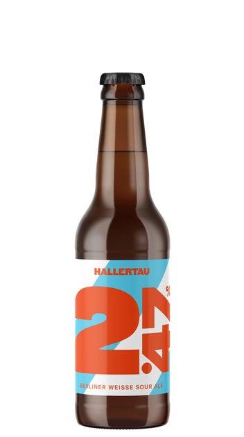Hallertau 2.47 Berliner Weisse 330ml bottle