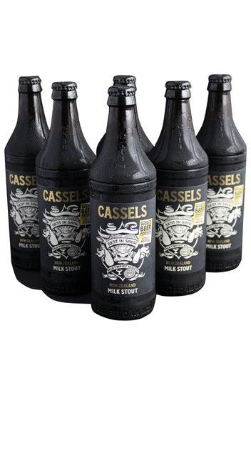 Cassels & Sons Milk Stout 6 x 518ml pack