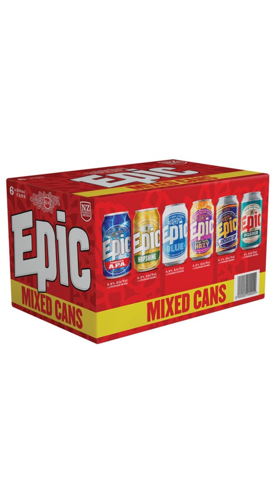 Epic Mixed 330ml Cans 6 pack #4